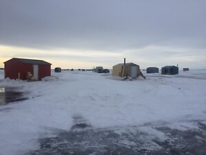 Warm and Clean Ice Fishing Rentals