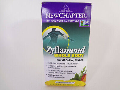 New Chapter Zyflamend Whole Body 120 Vegetarian Capsules {VS-N} for sale  Shipping to South Africa