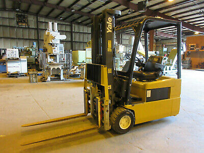 Yale 4200 Lbs. Electric Forklift Charger Newly Referbished Battery 48 Vdc