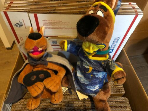 Lot of 2 Scooby Doo Plush Stuffed Animals