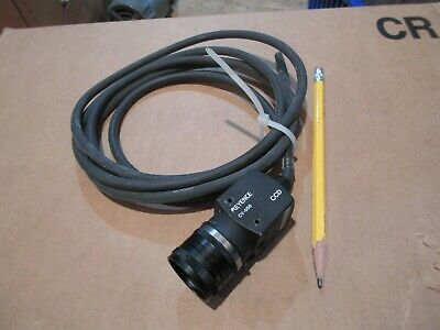 Keyence Ccd Camera Cv-050 Works