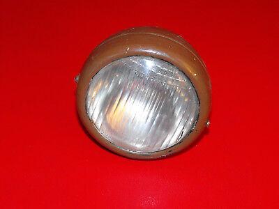 altes Fahrrad Oldtimer Lampe Fahrradlampe Blaustern Licht Scheinwerfer