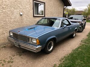 For Sale 1981 El Camino Royal Knight Super Sport