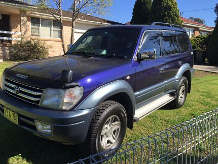 1997 Toyota landcruiser prado tx turbo diesel auto  Blacktown Blacktown Area Preview