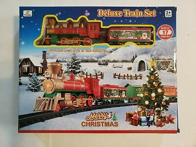 FENFA Merry Christmas Deluxe Electric Battery Operated Train Set 1600A-7C