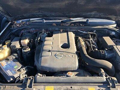 Nissan Navara / Pathfinder D40 2.5 DCI Diesel Engine YD25DDTi Black Top 78k