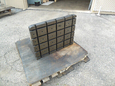 Cast Iron T-slotted Angle Plate 30-14 X 24 X 18-12.