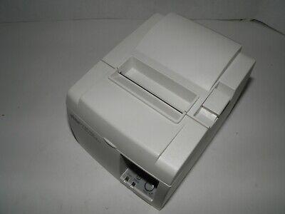 New Star Tsp100 Thermal Pos Receipt Printer Ethernet W Power Cord Model 143lan