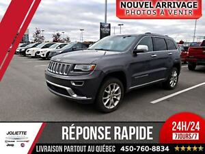 2014 Jeep Grand Cherokee Summit, 4X4, DIESEL, CUIR, NAV!