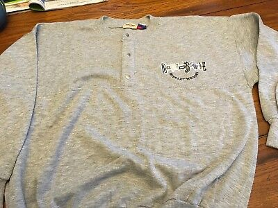 DAVID BOWIE 1987 NEVER LET ME DOWN PROMO SWEATSHIRT large RARE