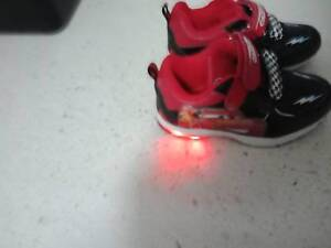 Lightning McQueen light up shoes reduced to  15  2208bc36c4e4