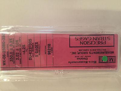 Vishay Micro Measurements Precision Strain Gage Wk-06-250bg-350 New 5 Gagespk