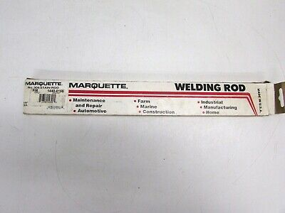 New Marquette No. 308 Stain Rod 18 Arc Welding Electrodes 1 Lb 1440-0155