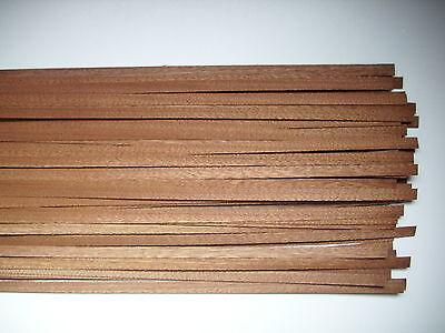 35 Holzleisten Mahagoni    1000 x 8 x 0,6 mm