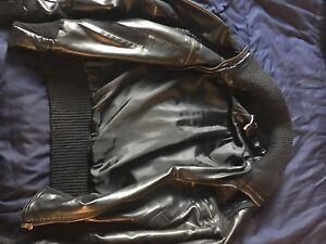 BDG black leather jacket