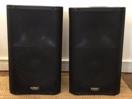 QSC 1000 Watt PA Speakers FOR SALE - CHEAP!
