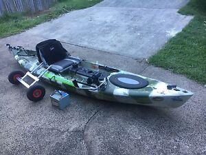 Fishing Kayak. Electric Motor Powered. Tweed Heads West Tweed Heads Area Preview
