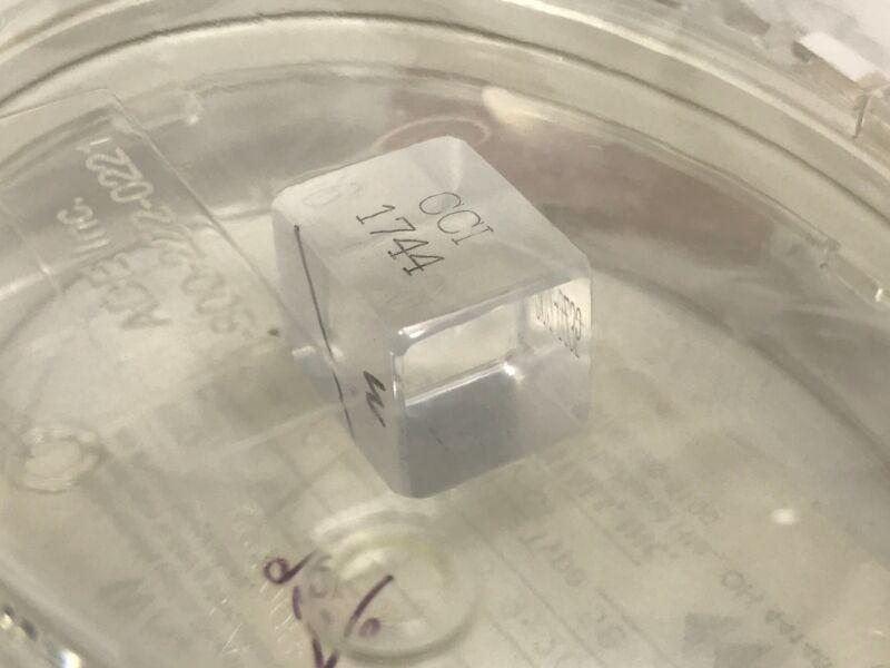 KDP Crystal 15.9 x 15.9 x 20mm T2, 58 Degree Nd:YAG Laser 1064nm Type 2, 95% KDP
