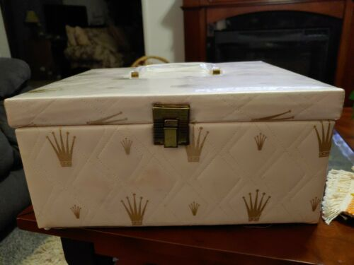 Vintage Travel Cosmetic Case - $7.00