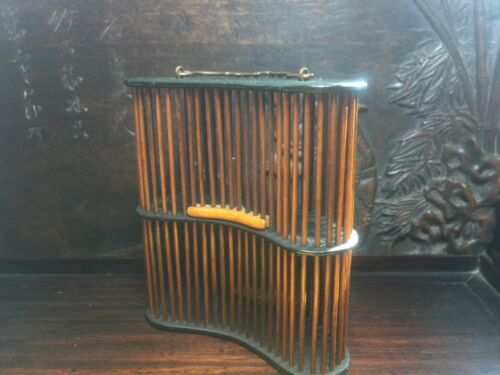 Antique Chinese Wood Cage