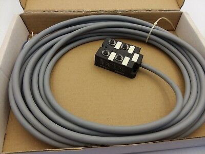 SIEMENS 3RX1 6604F DISTRIBUTION UNIT 4 FOLD 10 METER CABLE NIB