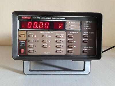 Keithley 617 Programmable Electrometer. Used As Is .