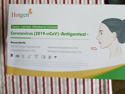 12x Hotgen Corona Schnelltest Antigen Nasal 2 cm Stäbchen - Laientest