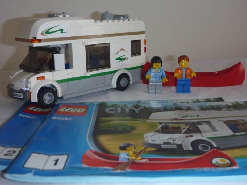 LEGO CITY CAMPER VAN SET 60057 COMPLETE INSTRUCTIONS | Toys - Indoor ...