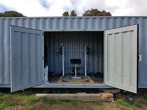 Refurbished 40' High Cube Shipping Container Gundaroo Yass Valley Preview