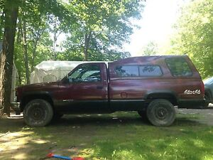 1996 GMC K1500 Manual with 3/4ton leaf springs