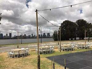 Tables & chair hire wedding party hire Upper Swan Swan Area Preview