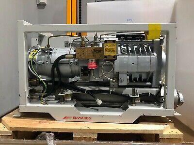 Edwards Qdp40 Dry Vacuum Pump With A38221000 Motor Control Module Box