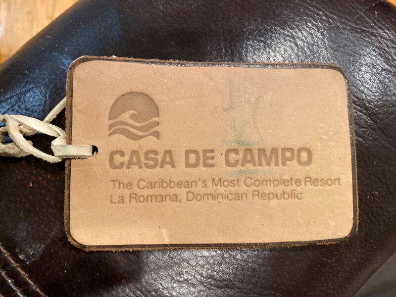 Rare Casa De Campo Golf Resort Golf Bag Tag - La Romana, Dominican Republic
