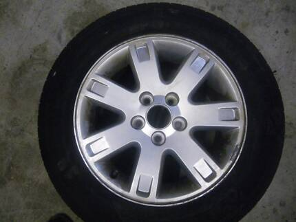 """GENUINE FORD AU BA BF 16"""" ALLOY RIM UTE TRAY LOAD RATED WHEEL  GC"""