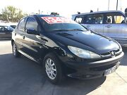 #140# 2001 Peugeot 206 Hatchback rego rwc drive away Maidstone Maribyrnong Area Preview