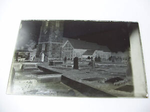 Lot77-c1890s-CHURCH-GRAVEYARD-Possibly-Aberystwyth-Glass-Negative
