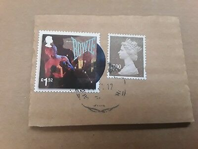 Davd Bowie stamp £1.52 used