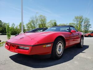 1986 Chevrolet Corvette OFFICIAL PACE CAR EDITION WITH ONLY 31KM
