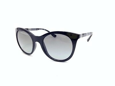 $225 VOGUE WOMENS BLACK SUNGLASSES EYE GLASSES BLACK GRADIENT UV LENS VO 2971-S