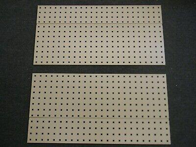Set Of 2 Kennedy 2-sided Tool Board 36 X 18 Steel Tan 50067tx