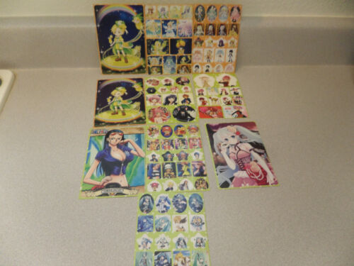 Anime  Characters Sticker sheets