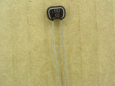 240 pF Small Size Silver Mica Capacitors qty 25