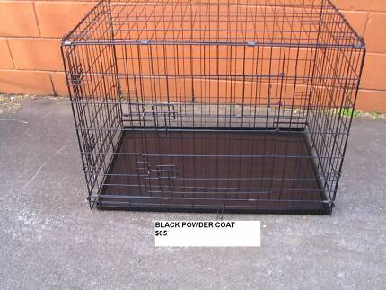 NEW XL Collapsible Metal Pet /Dog Puppy Cage Crate-METAL TRAY
