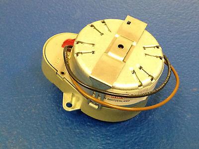 Synchronous Clock Motor 12v 10 Rpm 4mm 532 Shaft New