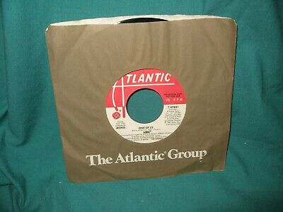 """ABBA - One of Us /  7"""" - 1981 - PROMO 45 record never played DL33"""