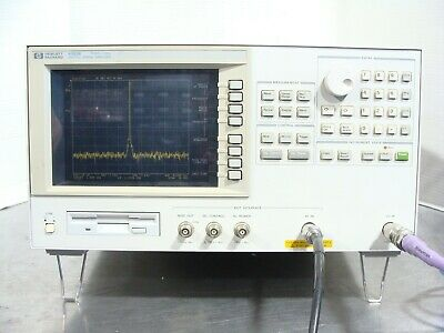 Hp Agilent Keysight 4352b 10mhz-3ghz Vcopll Signal Spectrum Analyzer Fft Tested