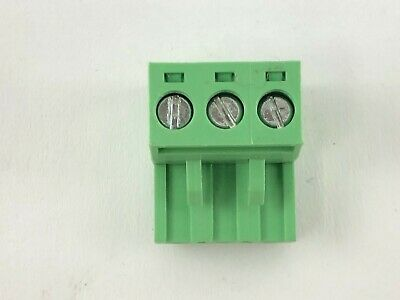50pcs 300v 10a - 5mm Pitch 3-pin Ptb 750b Screw Terminal Block Connector