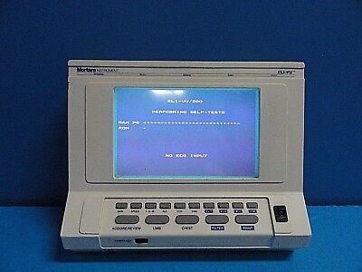 Mortara Eli-vu 200 Electrocardiograph Ecg Machine Display 36000-016-100016274