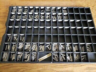 Vintage Letterpress Metal Type Copperplate Caps 12 Point 7 Printing Type