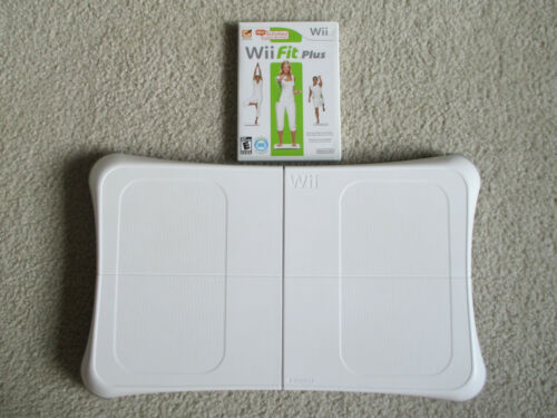Wii Fit Board and Wii Fit+ Game